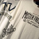 SUGAR CANE x Mr.FREEDOM/MFSC(Sportsman) Made in U. S. A. S/S SHOP TEE 'MISTER FREEDOM LA CA' Lot.SC76943/ cane x Mister freedom
