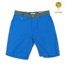 "ONTOUR (on tour), ""Sunny Side Up"" Sort Pants /Pool and Misty (pool/ミィスティ) COLOR:BLUE"