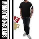 """""""Momotaro JEANS» Zimbabwe tenjiku T shirt /Lot.MT301MOMOTARO JEANS"""