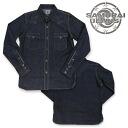 《 SAMURAI JEANS/ samurai jeans 》 denim western shirt Lot.SWD-L01