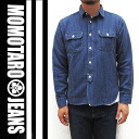 """Momotaro JEANS» indigostetchwork t-shirt ( INDIGO)/Lot.05-063"