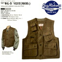 "WILLIAM GIBSON COLLECTION""( William Gibson )by BUZZ RICKSON'S (バズリクソンズ) BR12915 many functions wool best type WG-IV VEST(MOD.)"