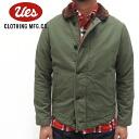 UES (WES) deck jacket ( Deck jacket)/Col.OL.ve/lot.901151 made in Japan ■ ■