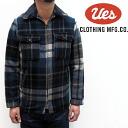 UES (WES) wool jacket ( WOOL jkt)Col.Navy/lot.211351 made in Japan ■ ■