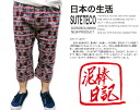 "Japan summer wear ""steteco"" native DW6956 suteteco Japanese pattern Shorts Pants ""Kazuo mind, cherish!  』"