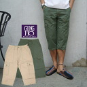 ◆ GUNG HO( cancer Ho) 6POCKET BELLOW FATIGUE cropped pants (37558) PANT, CROPPED, incompleteness, seven minutes fs3gm
