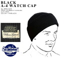 "WILLIAM GIBSON COLLECTION""( William Gibson )by BUZZ RICKSON'S (バズリクソンズ) KNIT CAP, black A-4_fs04gm"