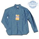 "シャンブレーワーク shirt ""CHAMBRAY WORK SHIRT, classic one piece Lot.25995-BLUE BuzzRickson's ( Rickson )"