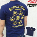 "«Samurai Club» S/STEE ""samurai Club"" short sleeved T shirt SCT12-101_NVY_SS ★ NEW ITEM_fs04gm"