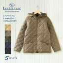 <point 10 times!> ラベンハム CRAYDON POLY quilting jacket #28800VAR H LAVENHAM coat quilting jacket Lady's polyS telluraBen ham Clayden 2013 fs3gm in the fall and winter
