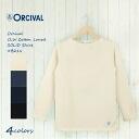 オーシバル オーチバル border boat neck バスクシャツ #B211 ORCIVAL-women's-cotton road | #B211 | solid-オーチバル-