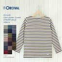 It is received in winter in the <autumn of 2014!>オーシバルボートネックボーダー long sleeves Basque shirt #B211 [オーチバル orcival Lady's cotton road horizontal stripe cut-and-sew French Basque shirt 2014aw]