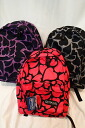 OUTDOOR PRODUCTS heart pattern backpack / daypack OUT112 (factory 452U type)
