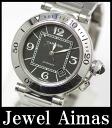 Cartier pasha timer W31077M7 self-winding watch / automatic lindera board men watch