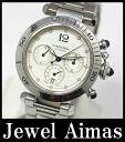Cartier pasha 38mm chronograph W31030H3 back スケ self-winding watch / automatic men watch