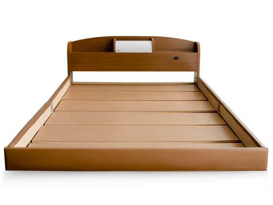 ベッド ダブル 収納 マットレス ...