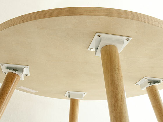 air-rhizome  라쿠텐 일본: 식탁 원목 원형 식탁 식탁 라운드 내츄럴 ...