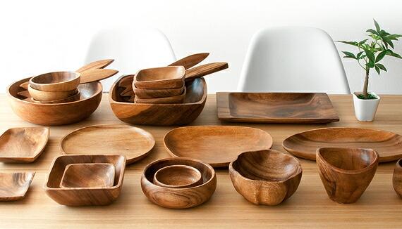 【楽天市場】木製食器 皿 木製 食器 プレート セット おしゃれ アカシア ボウル サラダボウル