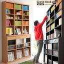 书架书柜大漫画 a4 存储木板墙存储薄书柜,书柜大书架大书货架 [大