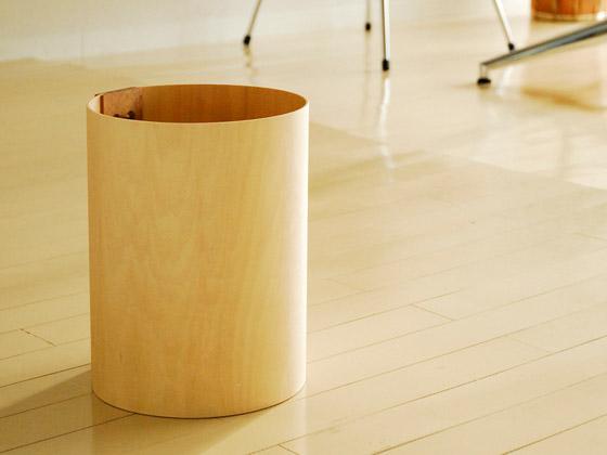 ゴミ箱 ヤマト工芸 天然木 ダストボックス ナチュラル