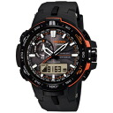 ■CASIO Casio electric wave, solar orange X black PRW-6000Y-1JF