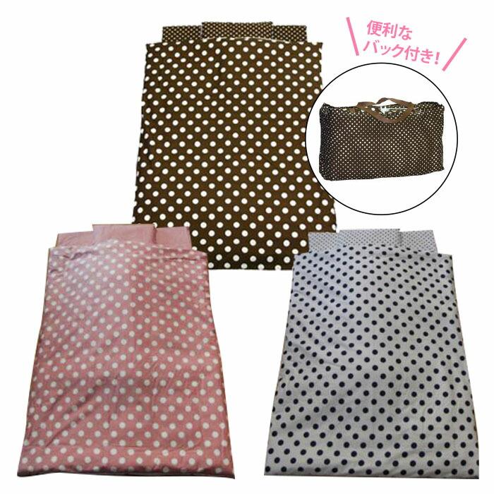 【日本製】 ベビーお昼寝布団セット 水玉(ピンク・紺・モカ茶)