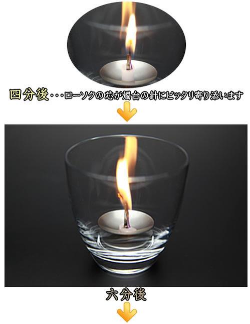 燃焼の様子