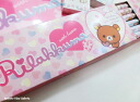 Rilakkuma lack pencils paper bin 1 dozen ( 12 pieces ) hexagonal axis RKH ★ pencil and pencil / enrollment, preparation / school ★ ☆☆