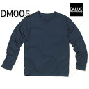 Basic long sleeves T-shirt / d'Arc DALUC#DM005 plain fabric