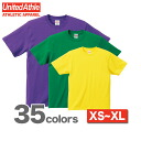6.2 Oz. short sleeve T shirt (XS-XL) athle UNITED ATHLE #5942-01 plain