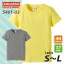 5.0 oz T shirt (Ladys S ~ L ) athle #5401-03 plain
