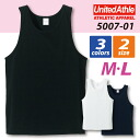 5.6 ounces of easy tank top / ユナイテッドアスレ UNITED ATHLE # 5007-01