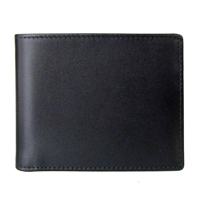 ETTINGER エッティンガー 二つ折り財布 メンズ ロイヤルコレクション ブライドルレザー PP 141JR BLACK ブラック