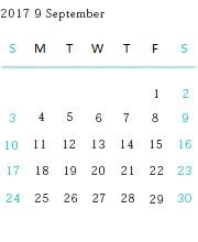 インポート靴のALEXIS営業日カレンダー