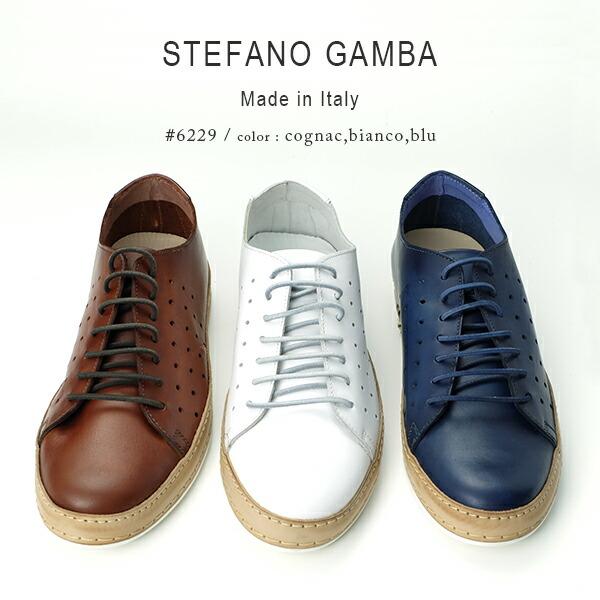 STEFANO GAMBA 7854 イントレチャート ストラップシューズ