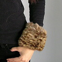 Mink & Russian sable coat fur (fur) cuff (I set it for both arms) & tippet ■