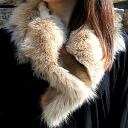 Fox & mink & lamb fur MIX( fur) tippet Natasha large size■