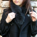 ★ in shipping 210 Yen ★ Fox Fur ( Fur ) Choker collar (mufflers) ■ stall