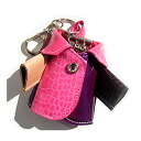 Multi-color ★ leather (leather)-Bolero-Chan 3 ウェイキーホルダー & key case & bag charms ■