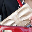 엘리스 롱 지갑 (리본 형 지갑) 일본은 원래 설정을 흑백 빨강 그린 골드 옐로우 핑크 블루 멋쟁이 _ 낙천 통 판