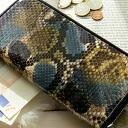 안젤리나 파이핑 에디션 라운드 지퍼 롱 지갑 파이 손 가죽 버전 (여성용 장 지갑 지갑 파이 손 가죽)
