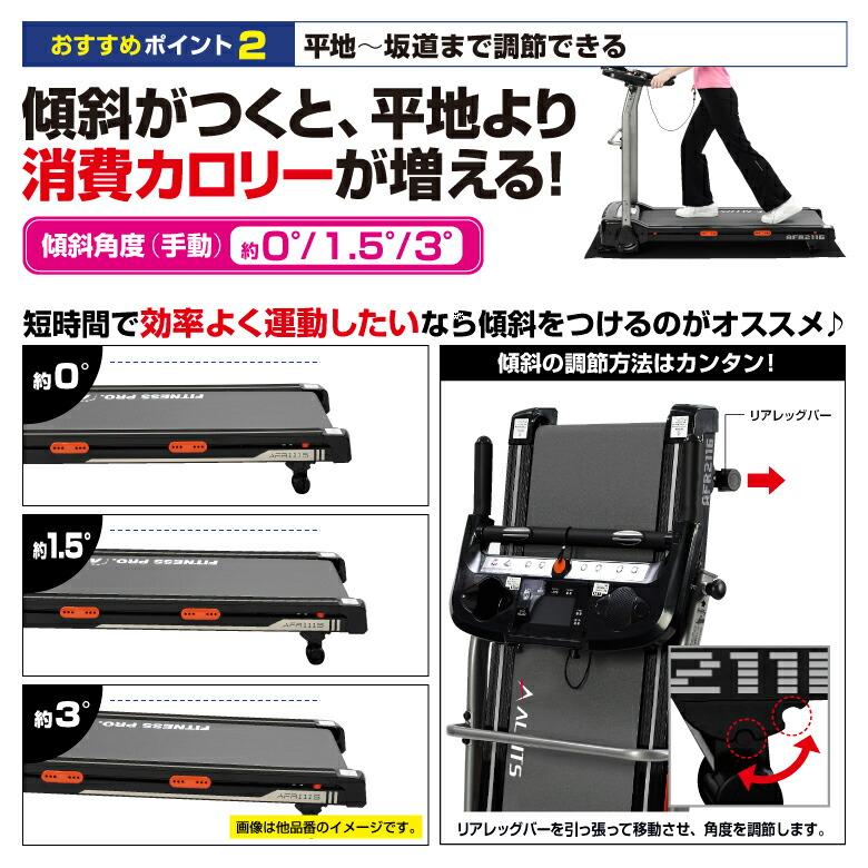 ランニングマシン2116/AFR2116K/AFR2116R_04