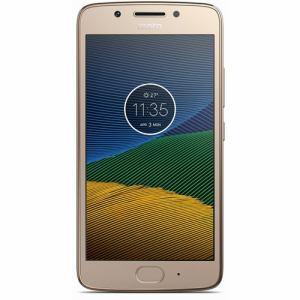 【納期約7~10日】モトローラ PA610104JP SIMフリースマートフォン Android 7.0・5型 「Moto G5」 16GB ファインゴールド PA610104JP