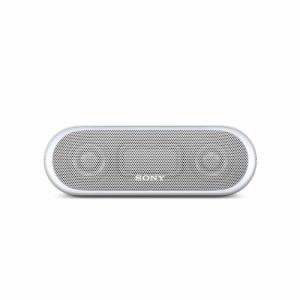 【納期約1週間】SRS-XB20-W SONY ソニー Bluetooth対応 ワイヤレスポータブルスピーカー グレイッシュホワイト SRSXB20W