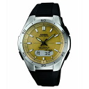 CASIO Casio WVA-M640-9AJF on solar radio control watch] waveseptor Waveceptor multiband 6 watch
