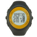 Running watch with AR-2080OR dark gray X orange GPS
