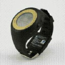 It supports model Edy for running watch 12 hours with AR-2120GLE black X champion gold [ARES Ares] GPS