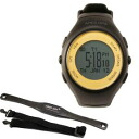 It supports model Edy for running watch 12 hours with AR-2120GLEC black X champion gold [ARES Ares] GPS