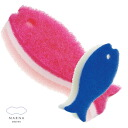 Length contoured Myrna novel sponge all 10 colors at the bottom of the cup easy to wash fish form 10P30Nov13