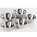 Prone j stainless mini Bowl 5 Pcs fs04gm